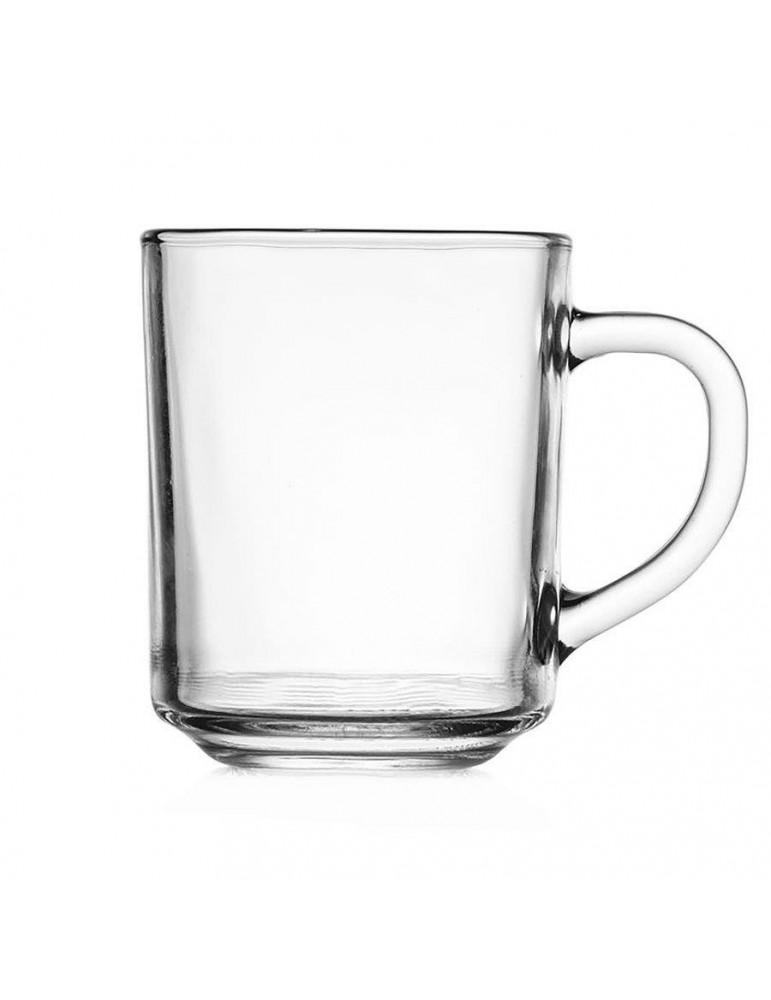 Kubek szklany 250 ml bezbarwny