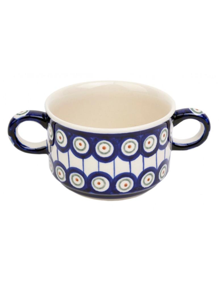 Bulionówka 0,26 l. Ceramika...