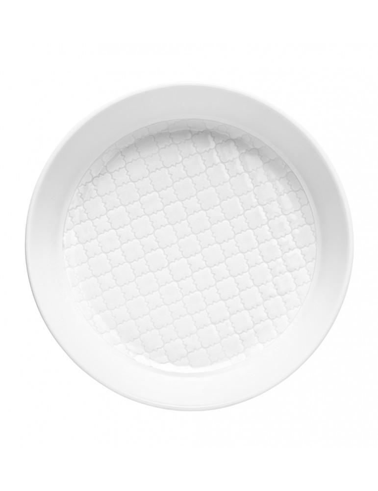 talerz głęboki biały...