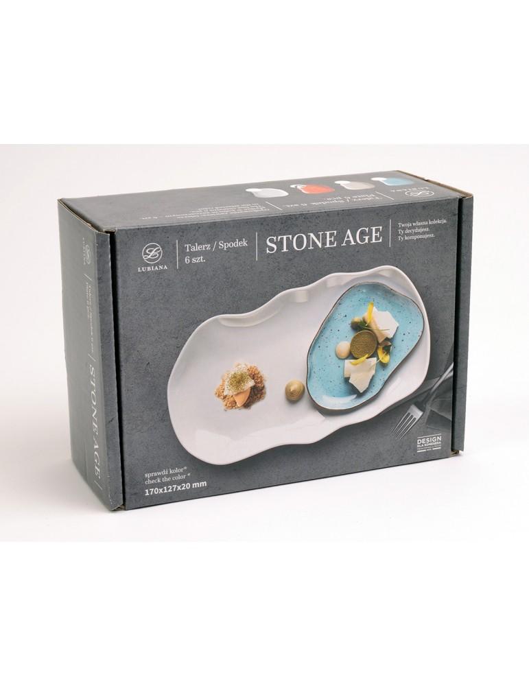 Lubiana Stone Age ceglasty...