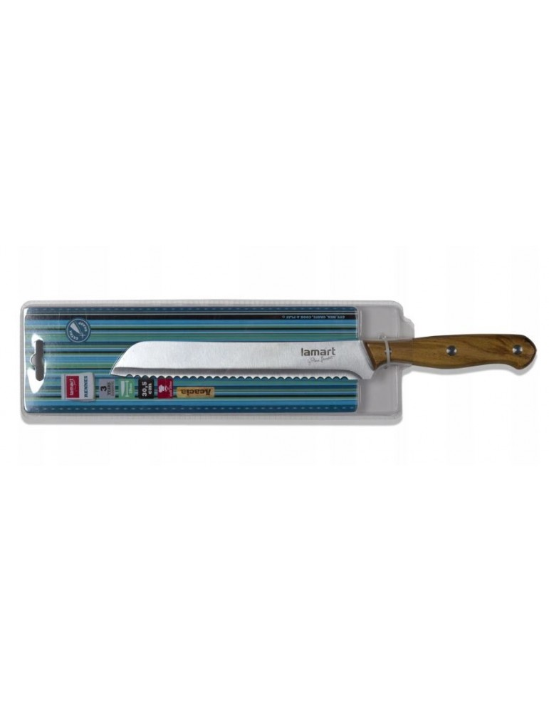 Lamart nóż do chleba 19cm...