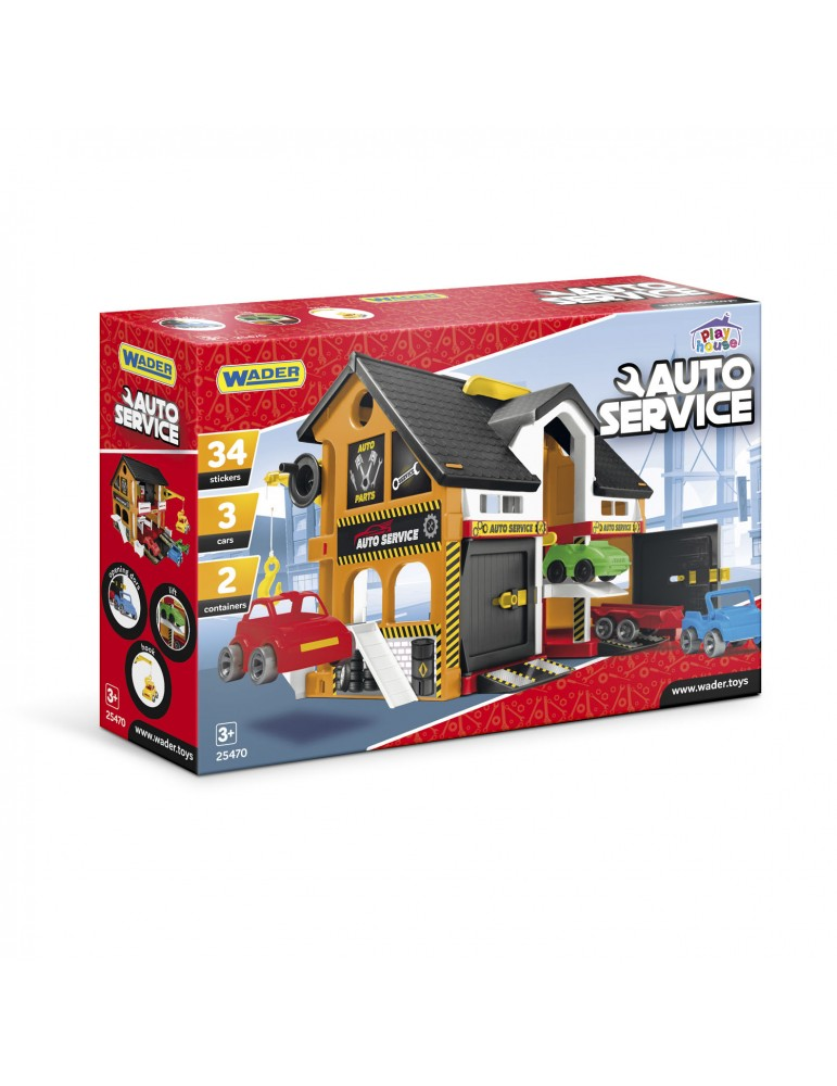 Wader play house serwis...