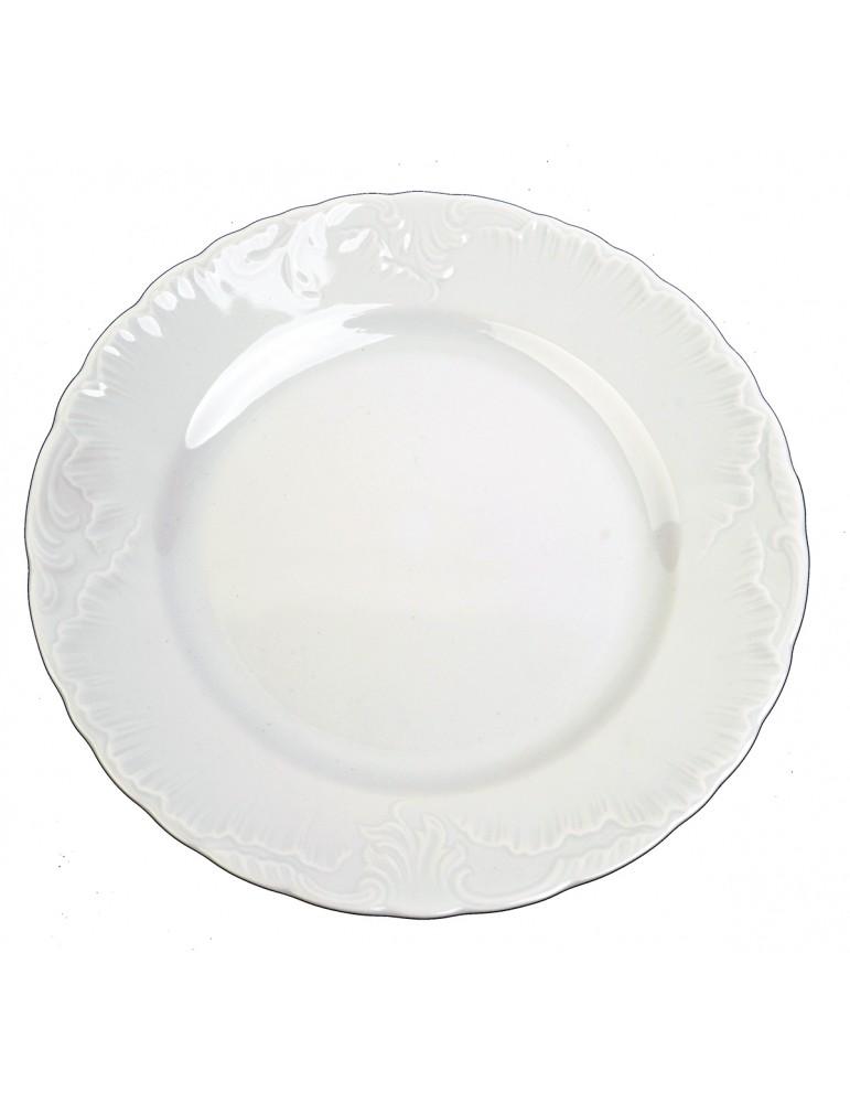 Talerz płytki obiadowy 25cm...