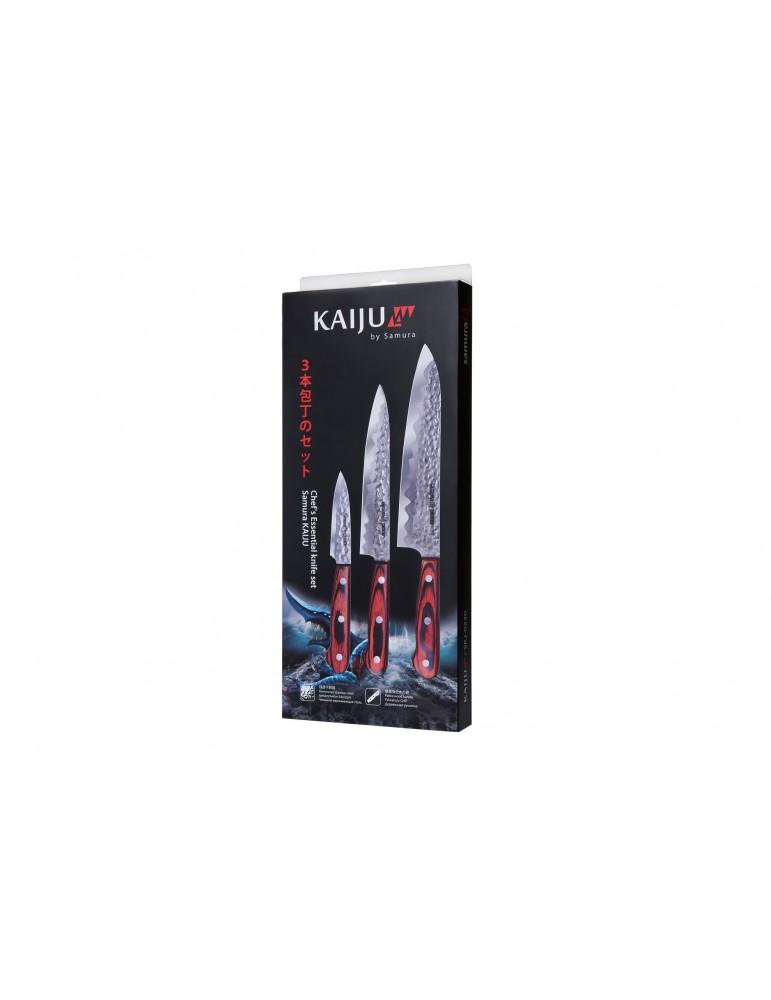 Zestaw 3 Noży KAIJU Samura...